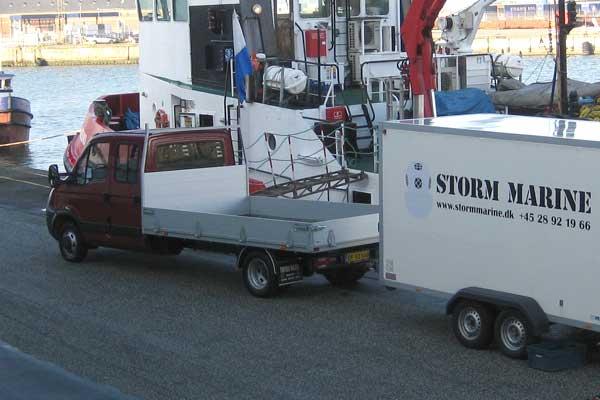 Lastbil og varevogn